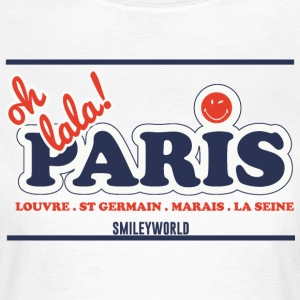 SmileyWorld Oh lala! Paris - Women's T-Shirt