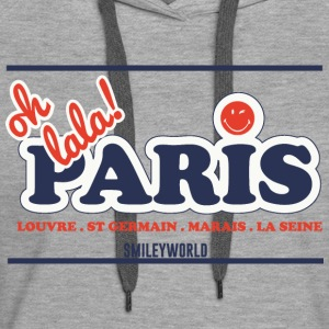 SmileyWorld Oh Lala Paris - Frauen Premium Hoodie