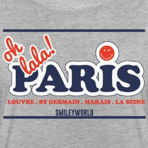 SmileyWorld Oh Lala Paris - Frauen Oversize T-Shirt
