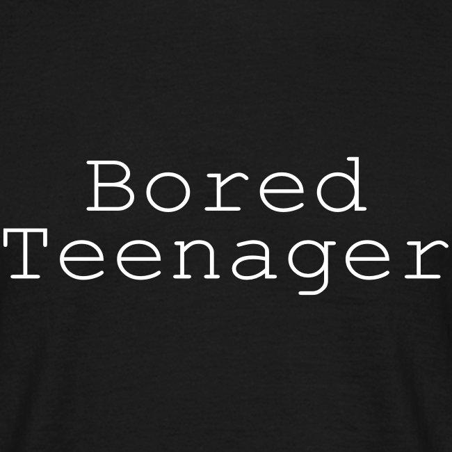 bored teenager