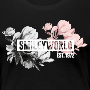 SmileyWorld Magnolia - Premium-T-shirt dam