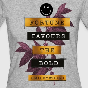 SmileyWorld Fortune Favours - T-shirt Bio Femme