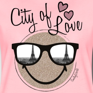 SmileyWorld City of Love - Maglietta Premium da donna