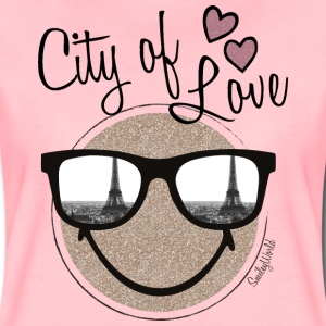 SmileyWorld City of Love - Dame premium T-shirt