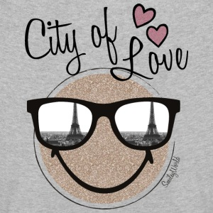 SmileyWorld City of Love - Premium langermet T-skjorte for barn