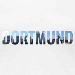 City Skyline Dortmund T-Shirts - Frauen Premium T-Shirt