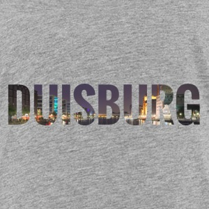 City Skyline Duisburg T-Shirts - Teenager Premium T-Shirt