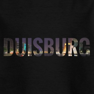 City Skyline Duisburg T-Shirts - Kinder T-Shirt