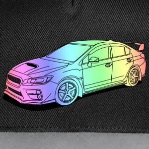 wrx sti colourful Caps & Hats - Contrast Snapback Cap