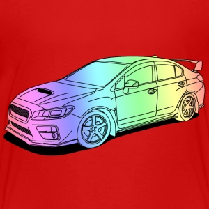 wrx sti colourful T-Shirts - Kinder Premium T-Shirt