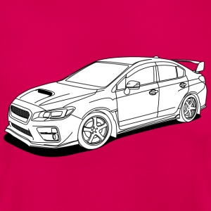 wrx sti white T-Shirts - Frauen T-Shirt