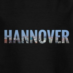 City Skyline Hannover T-Shirts - Teenager T-Shirt