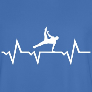 Gymnast, Gymnastics, Heartbeat - men T-Shirts - Men's Football Jersey