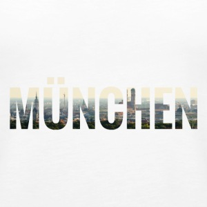 City Skyline München Tops - Frauen Premium Tank Top