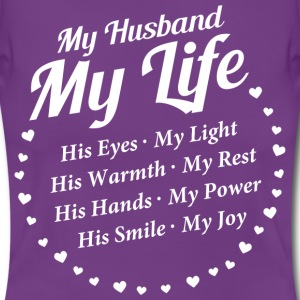 My Husband - T-Shirt for women - Frauen T-Shirt