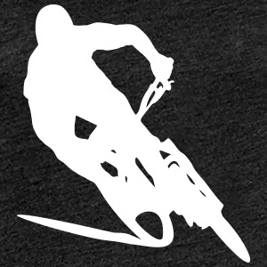 MTB Downhill Mountainbike T-Shirts - Frauen Premium T-Shirt