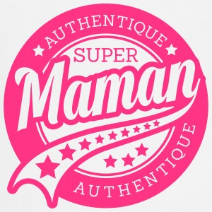 authentique super maman Tabliers - Tablier de cuisine