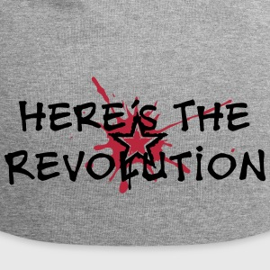 Here's the Revolution, Stern, Anarchie, Punk, Blut - Jersey-Beanie