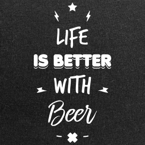 life is better with beer Kasketter & huer - Jersey-Beanie
