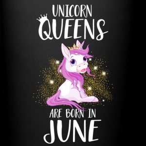 UNICORN QUEENS ARE BORN IN JUNE Mugs & Drinkware - Full Colour Mug