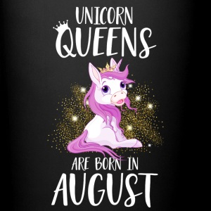 UNICORN QUEENS ARE BORN IN AUGUST Mugs & Drinkware - Full Colour Mug