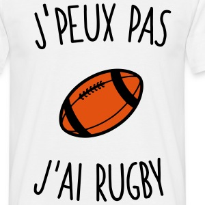 J'peux pas j'ai rugby Tee shirts - T-shirt Homme