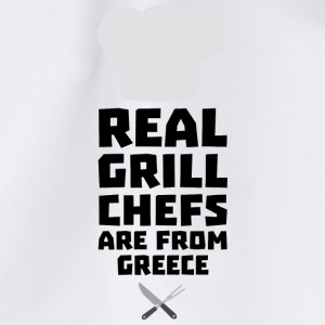 Real Grill Chefs are from Greece S75zj Bags & Backpacks - Drawstring Bag