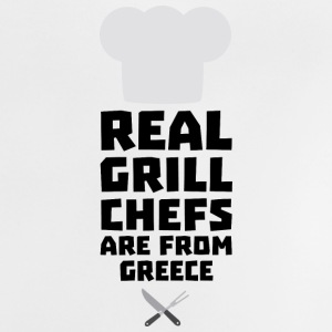 Real Grill Chefs are from Greece S75zj Baby Shirts  - Baby T-Shirt
