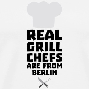 Real Grill Chefs are from Berlin Sn803 T-Shirts - Men's Premium T-Shirt