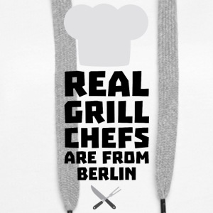 Real Grill Chefs are from Berlin Sn803 Hoodies & Sweatshirts - Women's Premium Hoodie