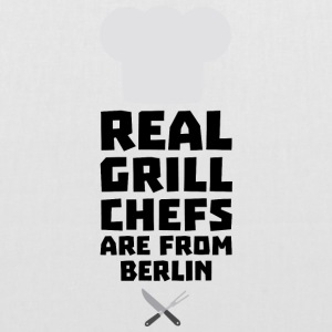 Real Grill Chefs are from Berlin Sn803 Bags & Backpacks - Tote Bag