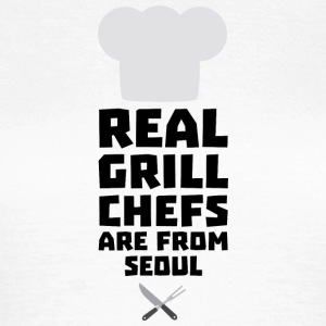 Real Grill Chefs are from Seoul S6ogi T-Shirts - Women's T-Shirt
