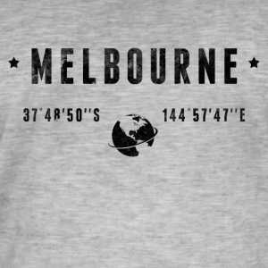 Melbourne Tee shirts - T-shirt vintage Homme