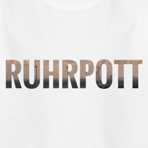 City Skyline Ruhrpott T-Shirts - Kinder T-Shirt