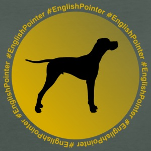 English Pointer - Frauen Bio-T-Shirt