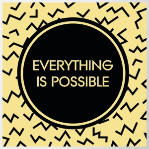 Everyhing is possible - Tasse zweifarbig