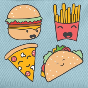 Fast food friends - Kids' Backpack