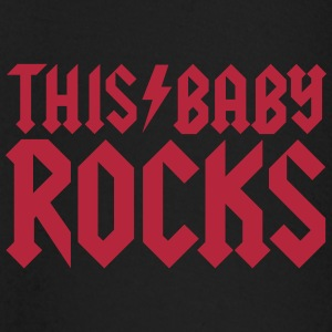This baby rocks Tee shirts manches longues Bébés - T-shirt manches longues Bébé