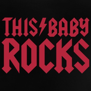 This baby rocks Babytröjor - Baby-T-shirt