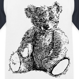 Teddy Kindershirt - Kinder Baseball T-Shirt