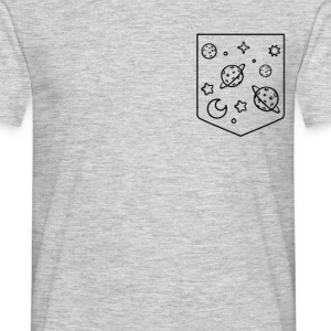 space pocket design T-Shirts - Men's T-Shirt