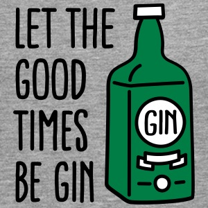 Let the good times be gin Manga larga - Camiseta de manga larga premium hombre