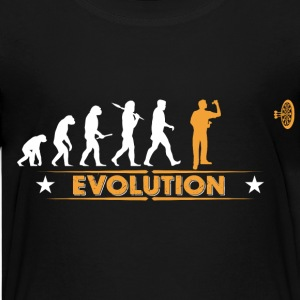 Dart - Evolution - orange/weiss Shirts - Teenager Premium T-shirt
