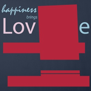 Love brings happiness - Sofa pillow cover 44 x 44 cm