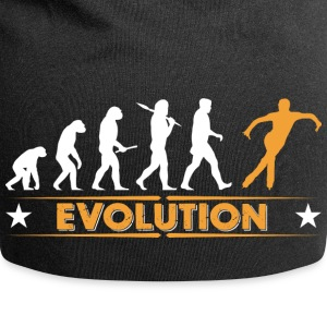La glace patinage evolution - orange/blanc Casquettes et bonnets - Bonnet en jersey