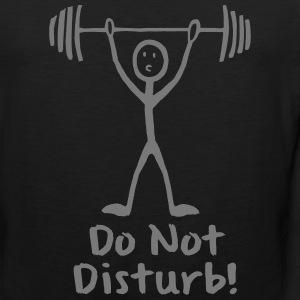 DON'T DISTURB Sports wear - Men's Premium Tank Top