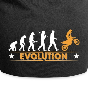 Motocross Evolution - orange/weiss Kasketter & huer - Jersey-Beanie