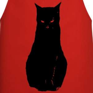Chat noir, black cat Tabliers - Tablier de cuisine