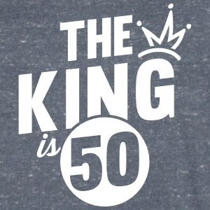 THE KING IS 50 T-Shirts - Men's V-Neck T-Shirt