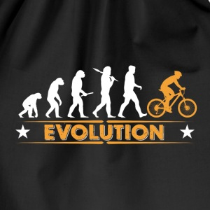 Mountain bike evolution - orange/vit Väskor & ryggsäckar - Gymnastikpåse